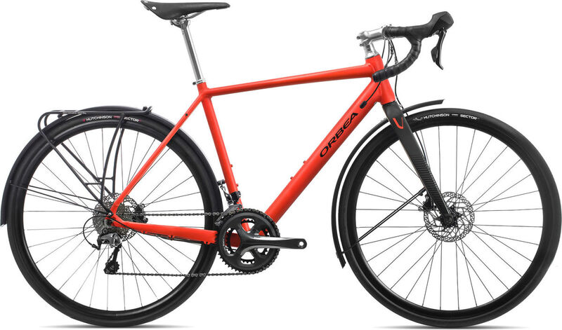 ORBEA Vector Drop Ltd XS Red/Black  click to zoom image