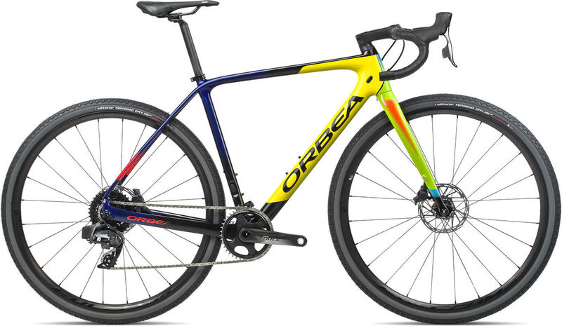ORBEA Terra M21e XS Yellow-Black  click to zoom image