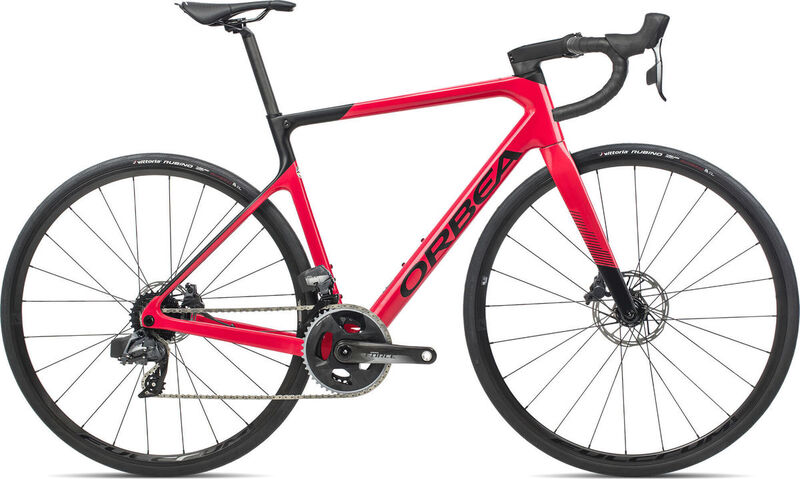 ORBEA Orca M21eTeam 47 Coral-Black  click to zoom image