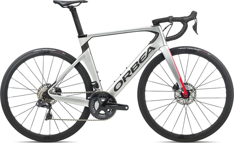 ORBEA Orca Aero M20iTeam 47 Silver-Red-Carbon  click to zoom image
