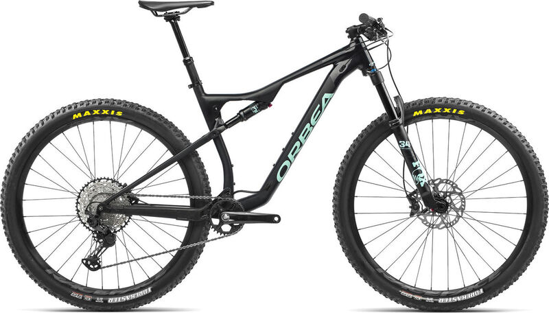 ORBEA OIZ H10 TR S Black-Green  click to zoom image
