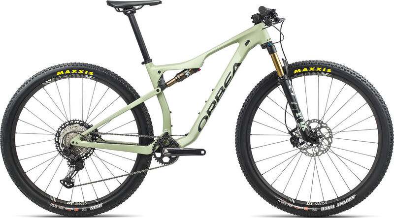 ORBEA OIZ M10 S Green-Black  click to zoom image