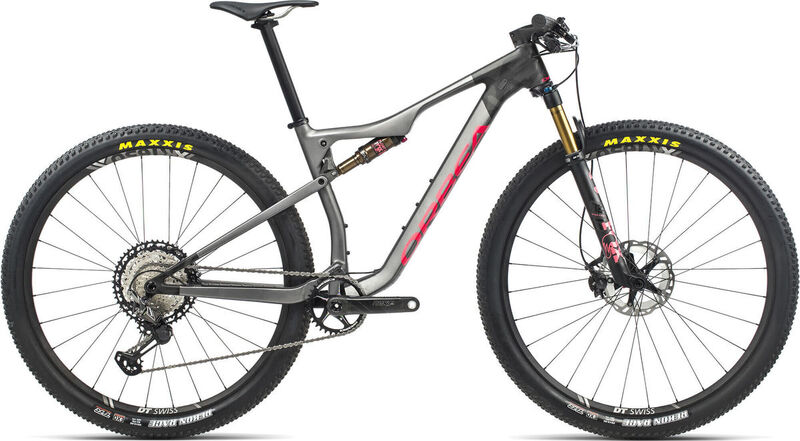 ORBEA OIZ M-Pro S Anthracite-Red  click to zoom image