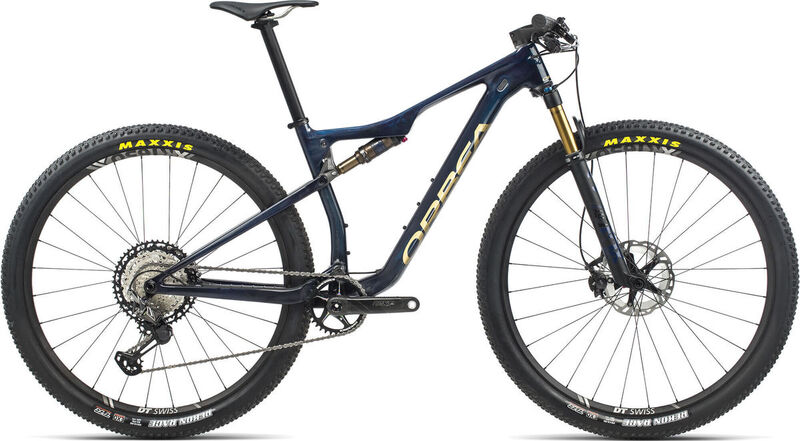 ORBEA OIZ M-Pro S Blue-Gold  click to zoom image