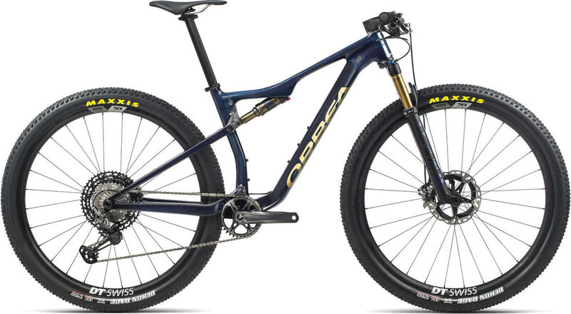 ORBEA OIZ M-Team S Blue-Gold  click to zoom image