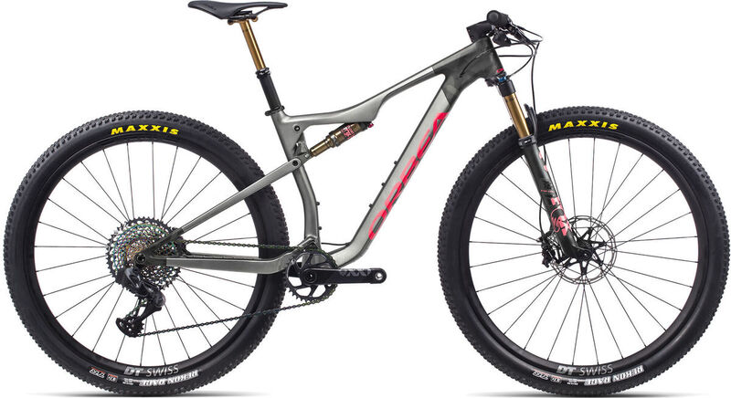 ORBEA OIZ M-LTD S Anthracite-Red  click to zoom image