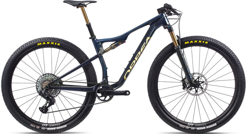 ORBEA OIZ M-LTD S Blue-Gold  click to zoom image