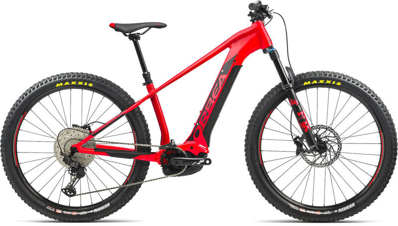 ORBEA Wild HT 20 27 S Red-Black  click to zoom image