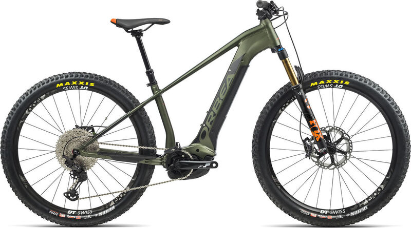 ORBEA Wild HT 10 27 S Green-Black  click to zoom image
