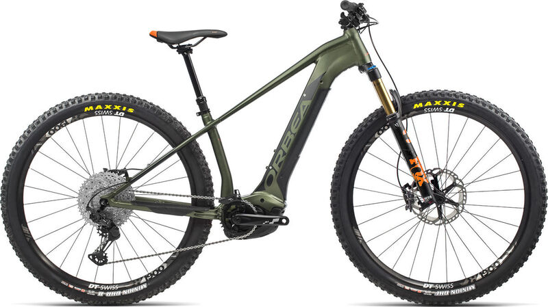 ORBEA Wild HT 10 29 S Green-Black  click to zoom image
