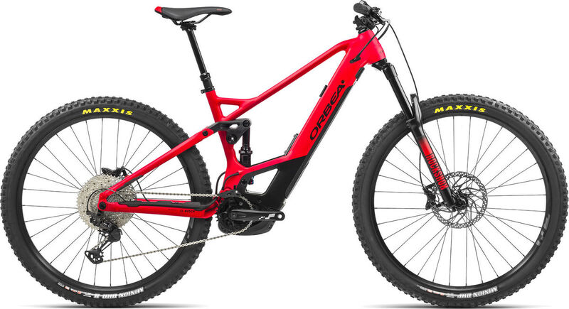 ORBEA Wild FS H30 S/M Red-Black  click to zoom image