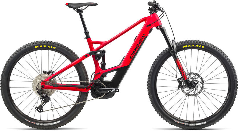 ORBEA Wild FS H25 S/M Red-Black  click to zoom image