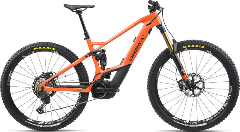 ORBEA Wild FS M-Team S/M Orange-Black  click to zoom image
