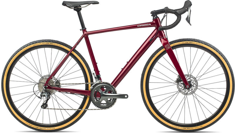 ORBEA Vector Drop XS Dark Red  click to zoom image