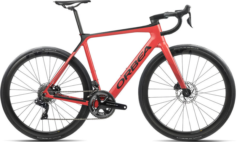 ORBEA Gain M10i XS Coral (Gloss) / Black (Matte)  click to zoom image