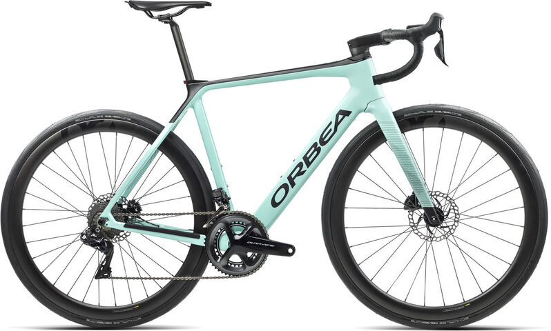 ORBEA Gain M10i XS Ice Green (Gloss) / Black (Matte)  click to zoom image