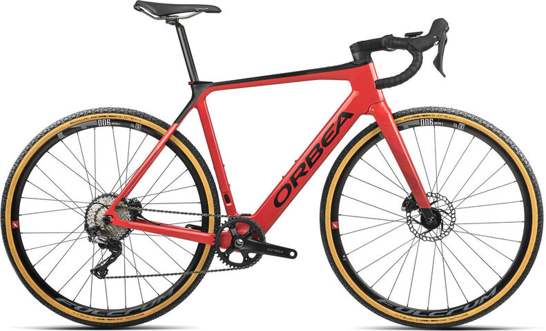 ORBEA Gain M30 1X XS Coral (Gloss) / Black (Matte)  click to zoom image