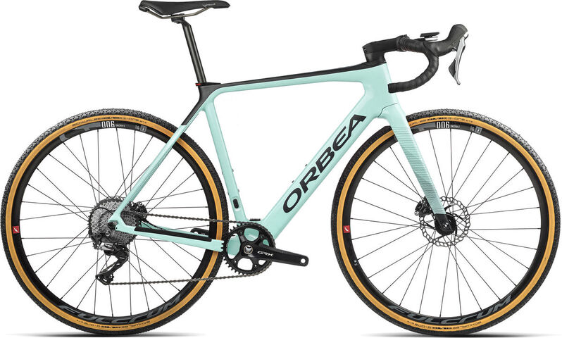 ORBEA Gain M20 1X XS Ice Green (Gloss) / Black (Matte)  click to zoom image
