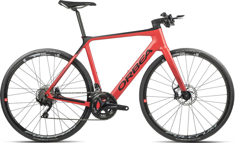 ORBEA Gain M30F XS Coral (Gloss) / Black (Matte)  click to zoom image