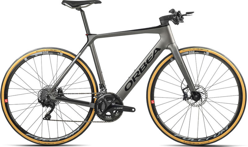 ORBEA Gain M30F XS Speed Silver (Matte) / Black (Gloss)  click to zoom image
