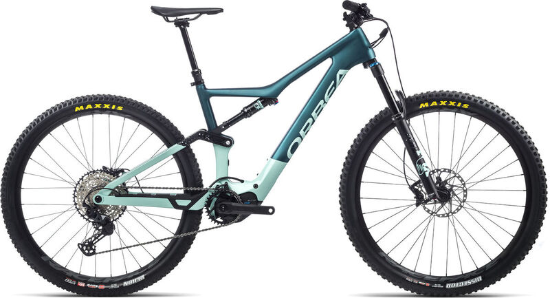 ORBEA Rise M20 S Ice Green / Ocean  click to zoom image