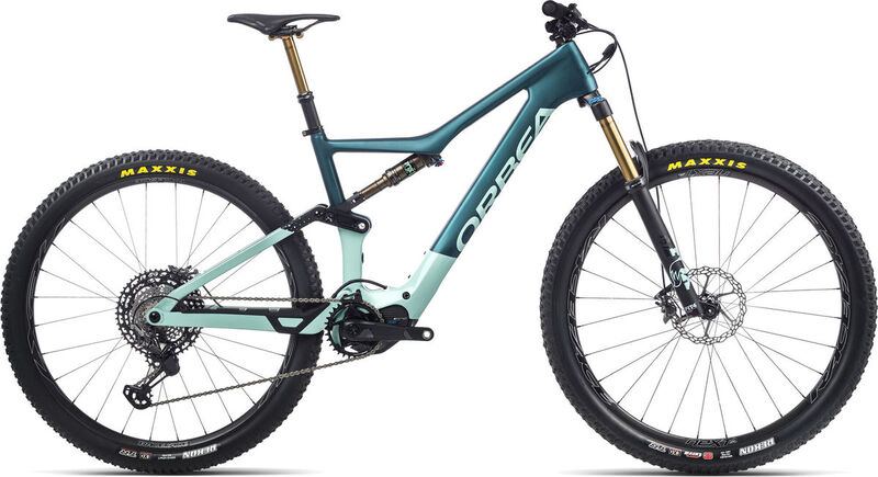 ORBEA Rise M-Ltd S Ice Green / Ocean  click to zoom image