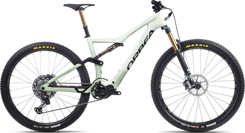 ORBEA Rise M-Ltd S Sap White / Green Fog  click to zoom image