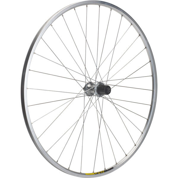 M-PART Shimano R400/Mavic Open Elite silver/DT Swiss P/G rear wheel click to zoom image