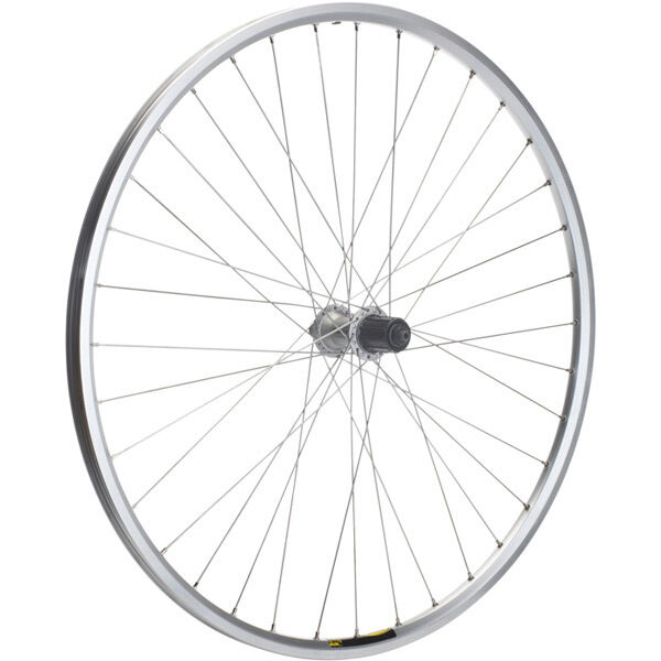 M-PART Shimano Deore/Mavic A319 silver/DT Swiss P/G 36 hole rear wheel click to zoom image