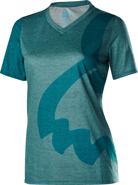 FOX RACING Womens Indicator Short Sleeve Jersey click to zoom image
