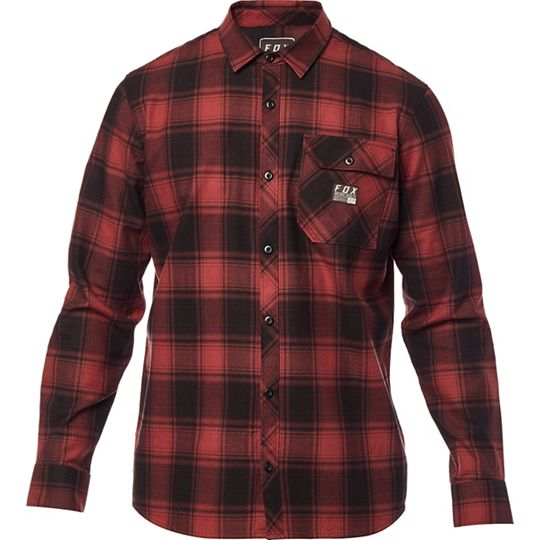 FOX RACING Voyd Flannel Shirt click to zoom image