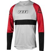 FOX RACING DEFEND LONG SLEEVE FOX JERSEY Small Steel Grey  click to zoom image