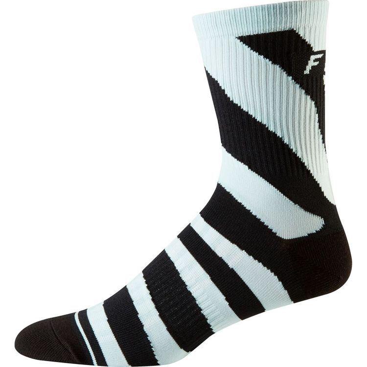 "FOX RACING 6"" TRAIL SOCKS click to zoom image"