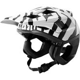 FOX RACING Dropframe Helmet Zebra Special Edition