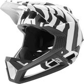 FOX RACING Proframe Helmet Zebra