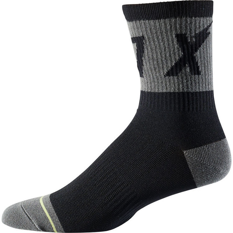 "FOX RACING 6"" Trail Sock - Wurd click to zoom image"