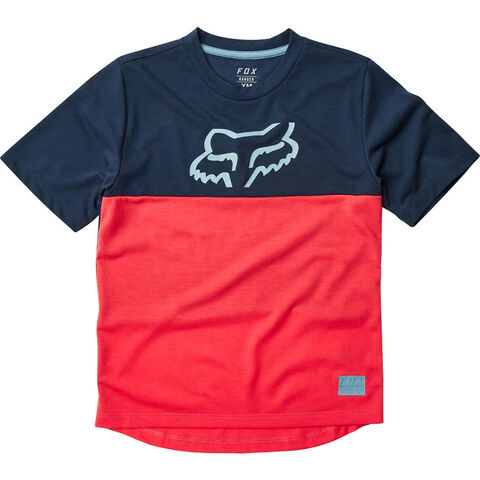 FOX RACING Youth Ranger Drirelease Jersey Youth Small Bright Red  click to zoom image