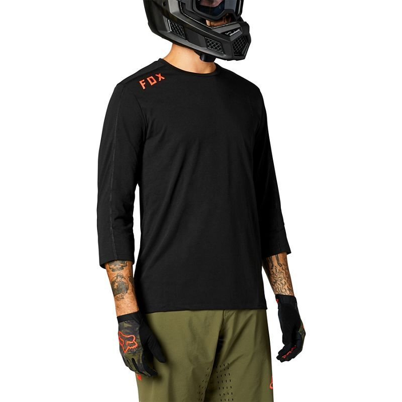FOX RACING Ranger Drirelease 3/4 Sleeve Jersey click to zoom image