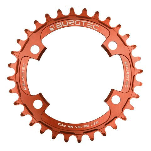 BURGTEC 96/64mm PCD Thick Thin Chainring 30T Kash Bronze  click to zoom image