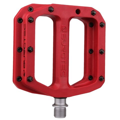 BURGTEC Mk4 Composite Pedals  Race Red  click to zoom image