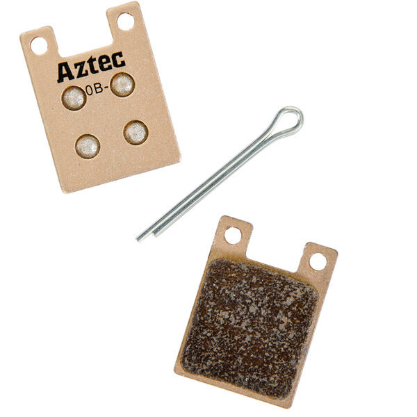 AZTEC Sintered disc brake pads for Shimano flat mount callipers click to zoom image
