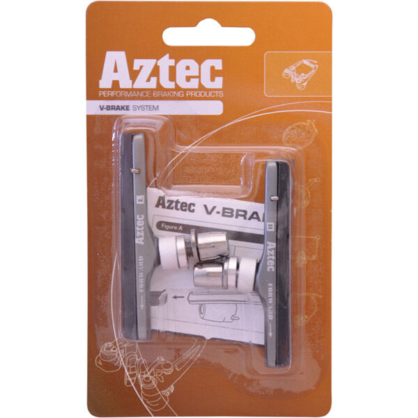 AZTEC Road insert brake blocks, carbon compound click to zoom image