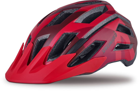 SPECIALIZED Tactic Ii Helmet Large Matte Red Fractal  click to zoom image