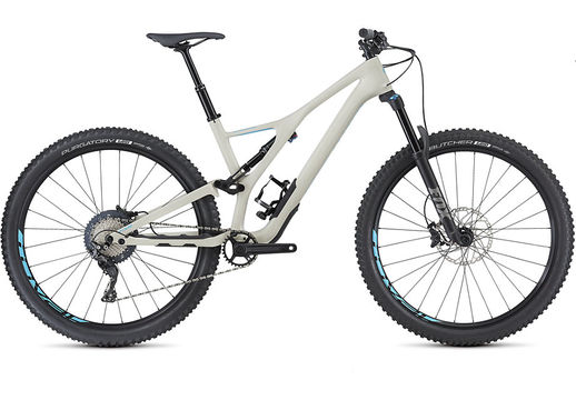 SPECIALIZED Stumpjumper Comp Carbon 29 Small Gloss/White Mtn/Nice Blue  click to zoom image
