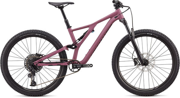 SPECIALIZED Stumpjumper St 27.5 XS SATIN DUSTY LILAC / BLACK  click to zoom image