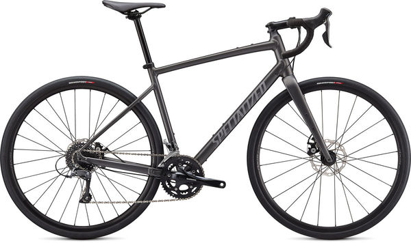 SPECIALIZED Diverge Base E5 44 Satin Smoke/Cool Grey/Chrome/Clean  click to zoom image
