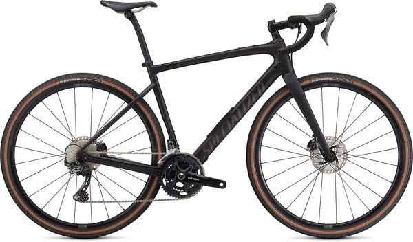 SPECIALIZED Diverge Comp Carbon 49 Satin Carbon/Smoke/Chrome/Clean  click to zoom image