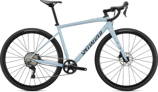 SPECIALIZED Diverge Comp E5 49 Gloss Ice Blue/Smoke/Chrome/Clean  click to zoom image