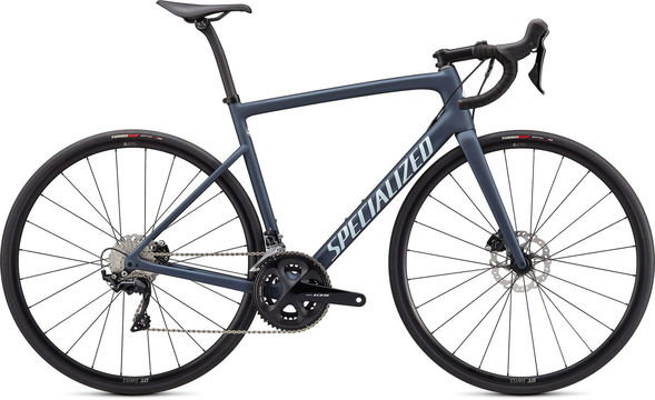 SPECIALIZED Tarmac SL6 Sport 49 Cast Blue Metallic/Ice Blue/Flo Red  click to zoom image