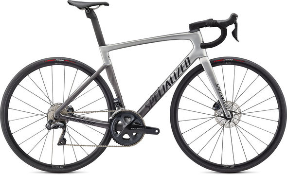SPECIALIZED Tarmac SL7 Expert - Ultegra Di2 44 Light Silver/Smoke Fade/Black  click to zoom image
